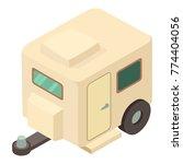 house wheel icon. isometric...   Shutterstock .eps vector #774404056