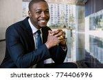 succesful ceo businessman... | Shutterstock . vector #774406996