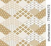 japanese pattern background... | Shutterstock .eps vector #774435172