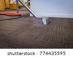 steam carpet cleaning at a... | Shutterstock . vector #774435595