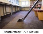 steam carpet cleaning   hot... | Shutterstock . vector #774435988