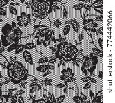 lace pattern in vector | Shutterstock .eps vector #774442066