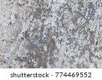 old cement floor texture for... | Shutterstock . vector #774469552