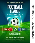football league tournament... | Shutterstock .eps vector #774501082