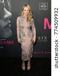 Small photo of New York, NY - December 13, 2017: Madison McKinley attends New York premiere Molly's Game at AMC Loews Lincoln Square