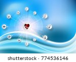 health care icon pattern... | Shutterstock .eps vector #774536146