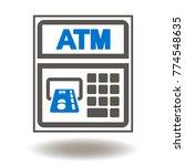 atm    automated teller machine ... | Shutterstock .eps vector #774548635