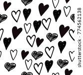 vector seamless pattern.... | Shutterstock .eps vector #774562138