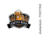 castle brew beer logo | Shutterstock .eps vector #774577942