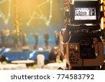 video production camera social... | Shutterstock . vector #774583792