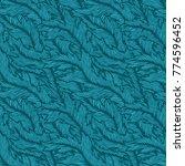 seamless texture background ... | Shutterstock . vector #774596452