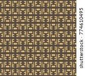 vector pattern design. modern... | Shutterstock .eps vector #774610495