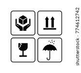 packaging icon logo   Shutterstock .eps vector #774612742