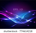 beautiful abstract background | Shutterstock .eps vector #774614218