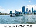 a transperth ferry carries... | Shutterstock . vector #774616582