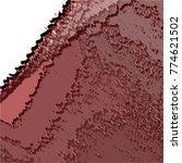 crimson red abstract 3d pattern ... | Shutterstock .eps vector #774621502