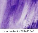 ultra violet abstract hand...   Shutterstock . vector #774641368