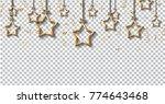 2018 happy new year design for... | Shutterstock .eps vector #774643468