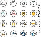 line vector icon set  ... | Shutterstock .eps vector #774652336