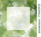 creative watercolor layout made ... | Shutterstock . vector #774655915