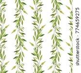 watercolor seamless pattern.... | Shutterstock . vector #774659275