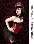 Small photo of Burlesque dancer