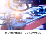 automobile manufacturing ... | Shutterstock . vector #774699502