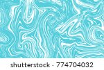 blue and white marble vector... | Shutterstock .eps vector #774704032
