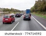 traffic jam at the german...   Shutterstock . vector #774714592