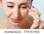 beautiful middle aged woman...   Shutterstock . vector #774717502