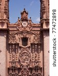 main facade in taxco church ... | Shutterstock . vector #77472898