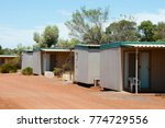 mining camp accommodation | Shutterstock . vector #774729556