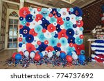 place for photos made of many... | Shutterstock . vector #774737692