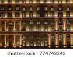 vintage architecture classical... | Shutterstock . vector #774743242