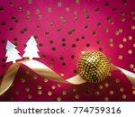 vivid pink christmas and new