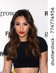 "Small photo of LOS ANGELES - DEC 13: Francia Raisa at the ""Grown-ish"" Premiere Screening at the Lure Nightclub on December 13, 2017 in Hollywood, CA"