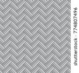 grey geometric rattan bamboo... | Shutterstock .eps vector #774807496