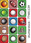 Various Sports Balls And...