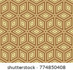 stylish geometric background.... | Shutterstock . vector #774850408