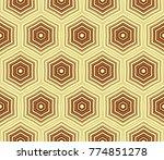 stylish geometric background.... | Shutterstock . vector #774851278