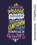 unique handdrawn lettering...   Shutterstock .eps vector #774896122