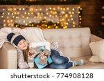 girl  daughter  smiling  glad...   Shutterstock . vector #774908128