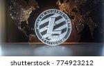 litecoin   lite coin ltc ... | Shutterstock . vector #774923212