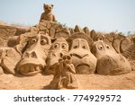 The Sand City Or Sand Sculpture ...
