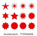 a set of fashionable forms of... | Shutterstock .eps vector #774936406