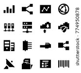 origami style icon set  ... | Shutterstock .eps vector #774950878
