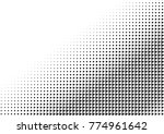 halftone background made of... | Shutterstock .eps vector #774961642