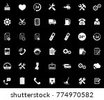service icons set | Shutterstock .eps vector #774970582
