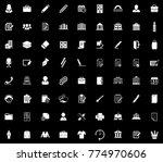 office icons set | Shutterstock .eps vector #774970606