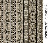 traditional etnic pattern in...   Shutterstock .eps vector #774986812